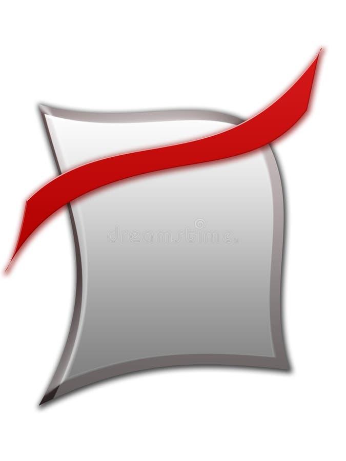 Het frame van de bedrijfsproductpresentatie vector illustratie