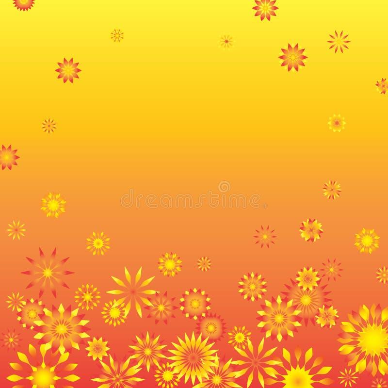 Het frame van de bloem royalty-vrije stock fotografie