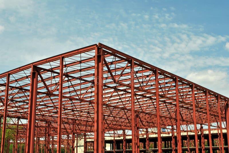Het frame van de bouw royalty-vrije stock afbeeldingen