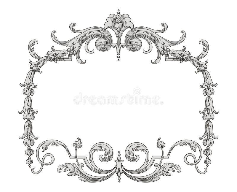 Het Frame Van De Decoratie Stock Fotografie