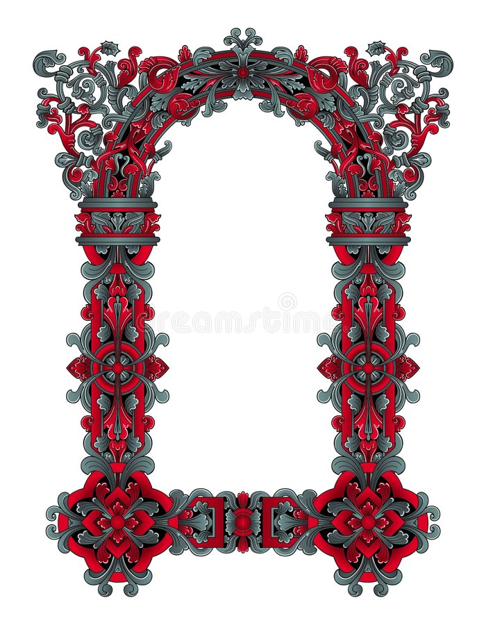 Het frame van de fee vector royalty-vrije illustratie
