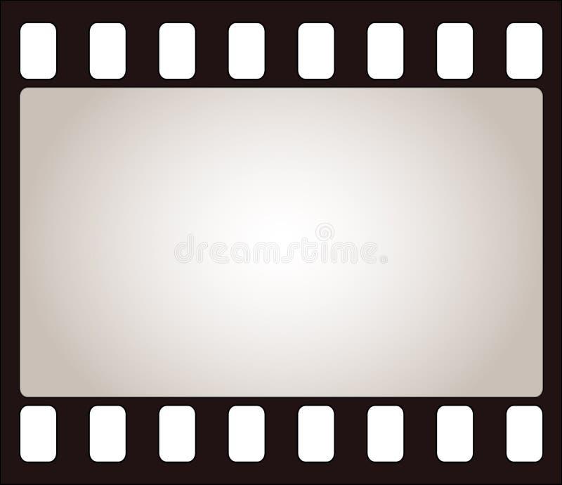 Het frame van de film vector illustratie
