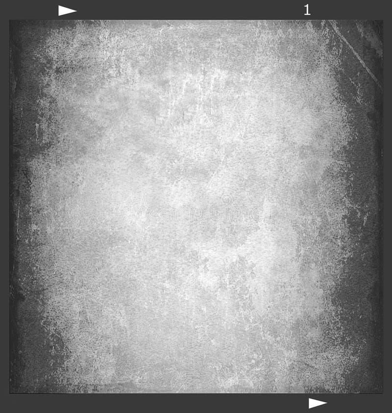 Het frame van de film (6X6) met textuur 3 royalty-vrije stock foto's
