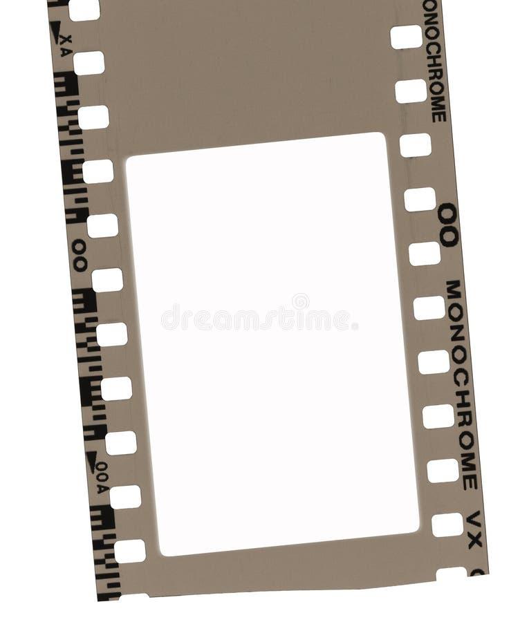 Het frame van de film stock afbeelding