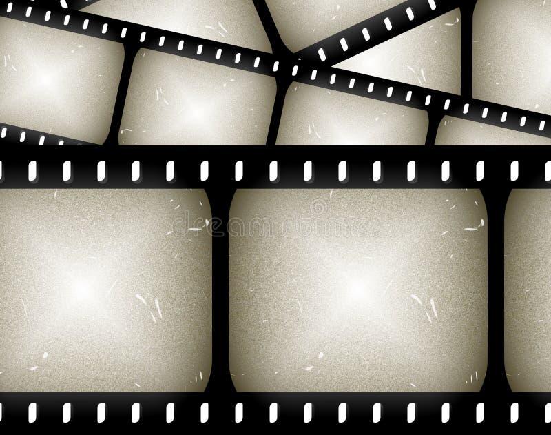 het frame van de filmfilm achtergrond vector illustratie