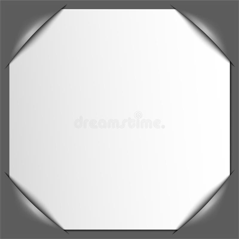 Het frame van de foto hoeken Vector royalty-vrije illustratie
