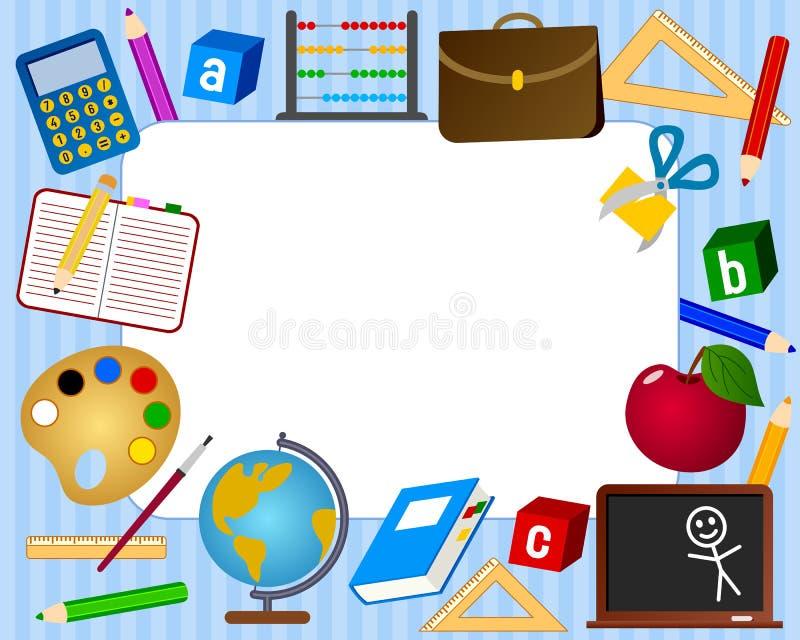 Het Frame van de foto - School vector illustratie