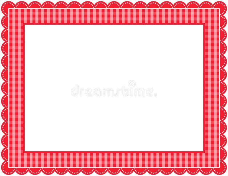 Het Frame van de gingang royalty-vrije illustratie