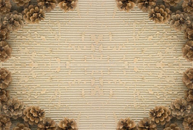 Het frame van de kegel royalty-vrije stock foto