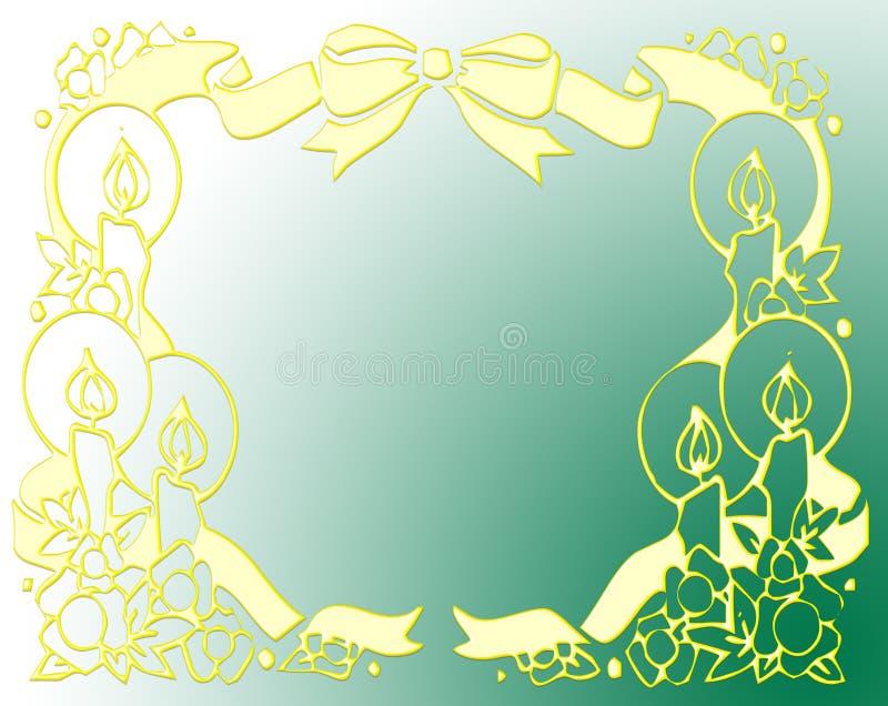 Het frame van de kerstman royalty-vrije stock fotografie