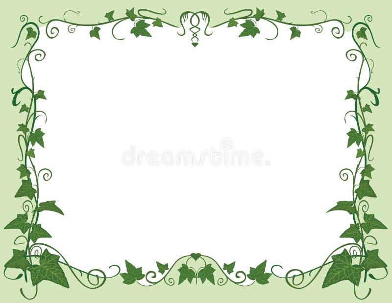 Het frame van de klimop royalty-vrije illustratie