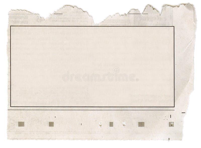 Het Frame van de krant royalty-vrije stock fotografie