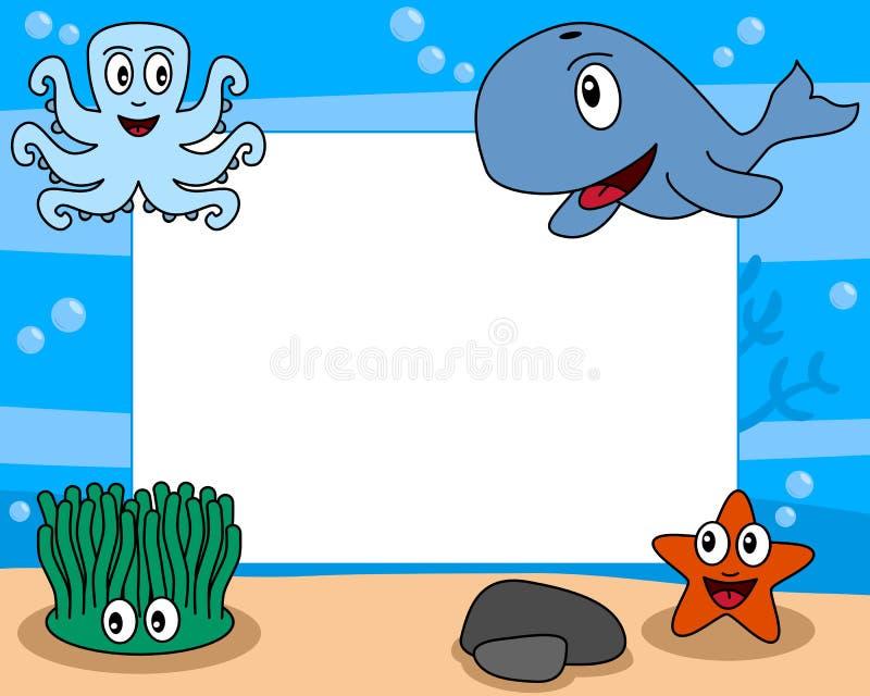 Het Frame van de overzeese Foto van het Leven [2] vector illustratie