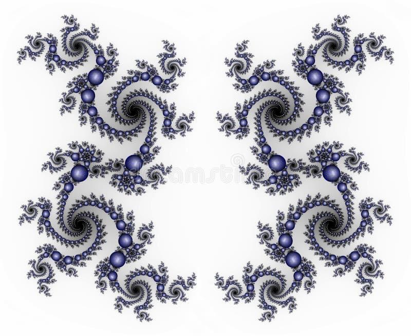 Het frame van de Parel van de draak royalty-vrije illustratie