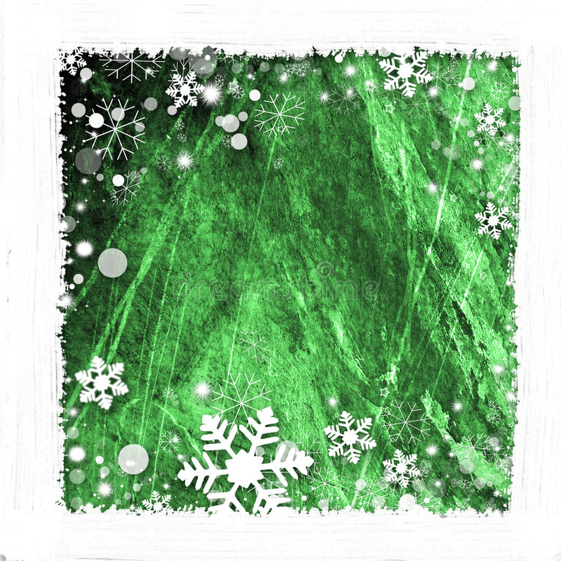 Het frame van de sneeuw achtergrond vector illustratie