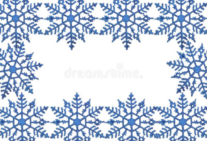 Het frame van de sneeuwvlok royalty-vrije stock foto's