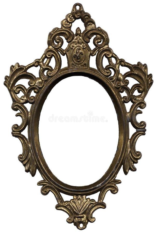 Het frame van de spiegel stock afbeelding