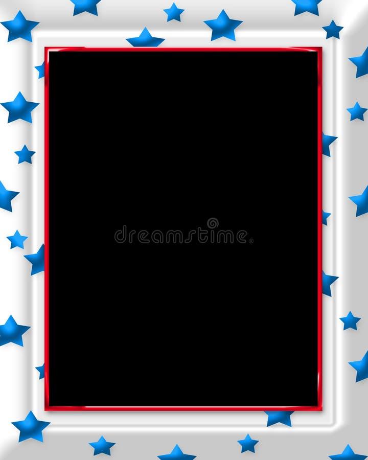 Het Frame van de ster royalty-vrije illustratie