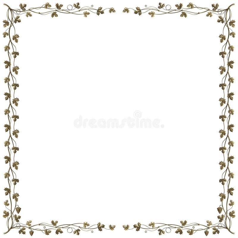 Het frame van de wijnstok vector illustratie