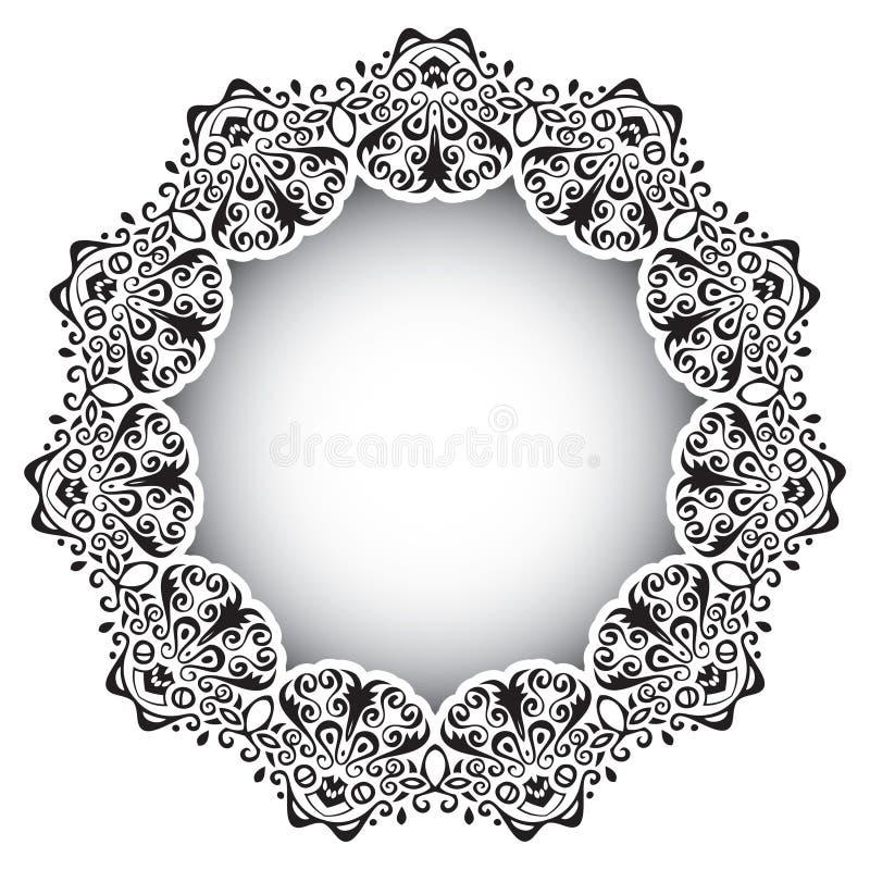 Het Frame van Deco royalty-vrije illustratie
