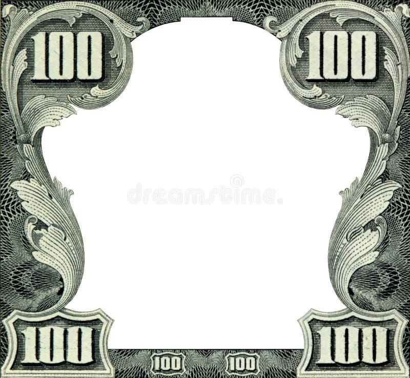 Het frame van dollars royalty-vrije stock foto