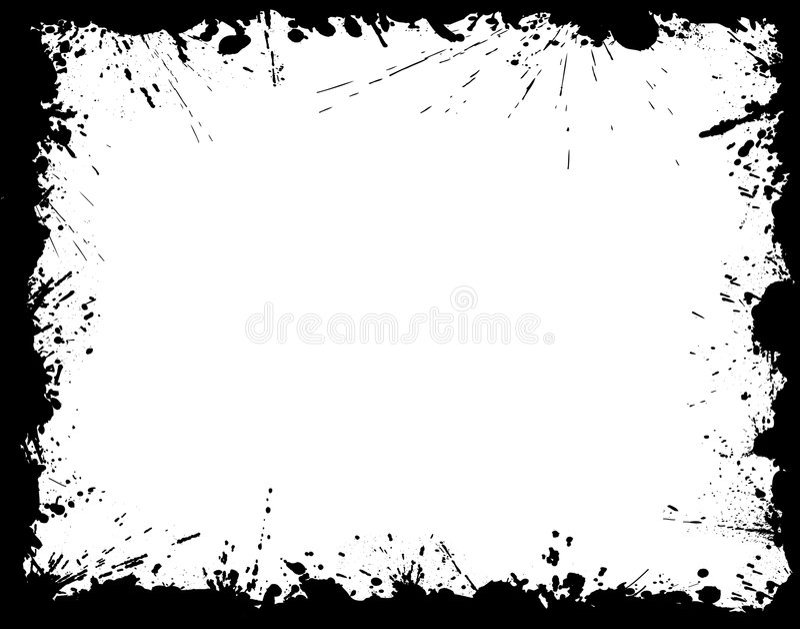 Het frame van Grunge vector illustratie