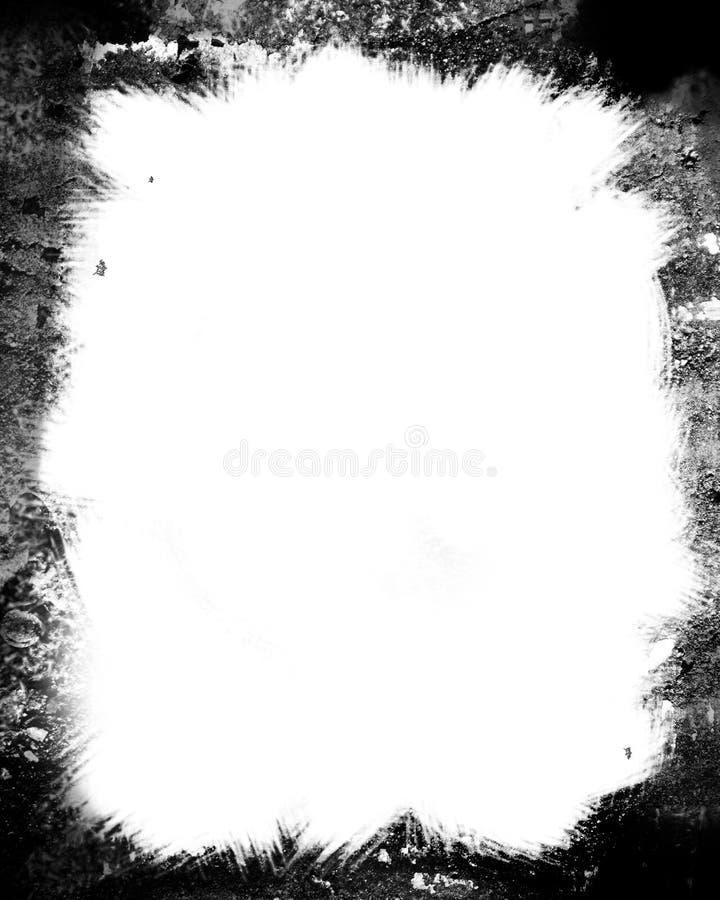 Het frame van Grunge royalty-vrije illustratie
