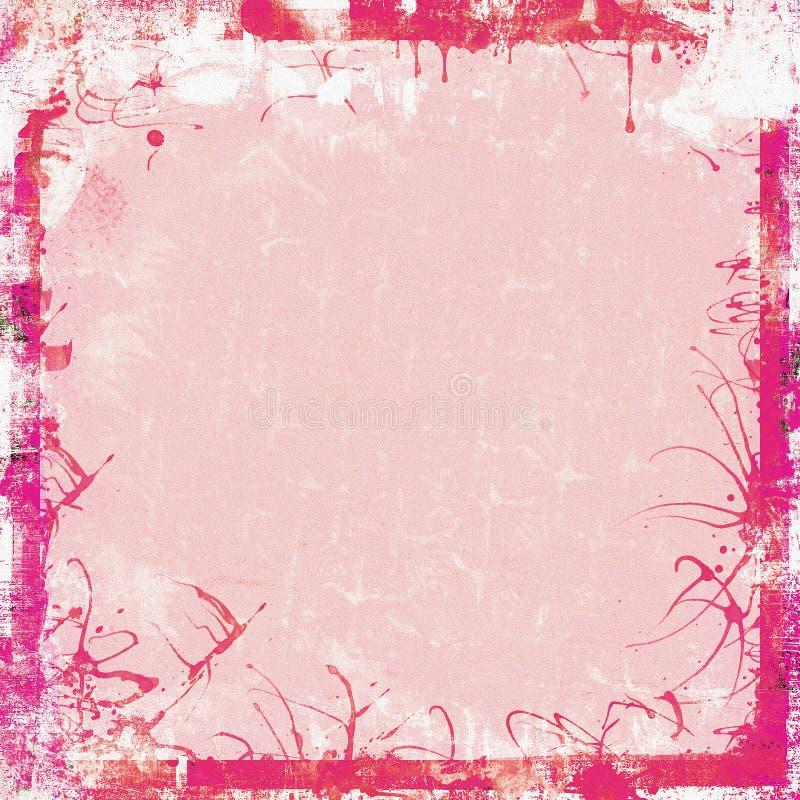 Het frame van Grunge achtergrond royalty-vrije stock afbeelding