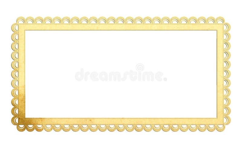 Het frame van het document stock foto