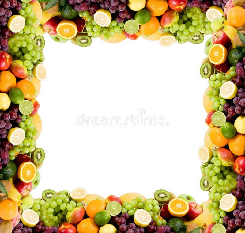 Het frame van het fruit royalty-vrije stock foto's