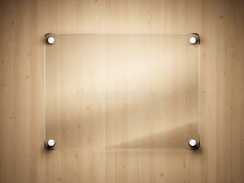 Het frame van het glas stock afbeeldingen