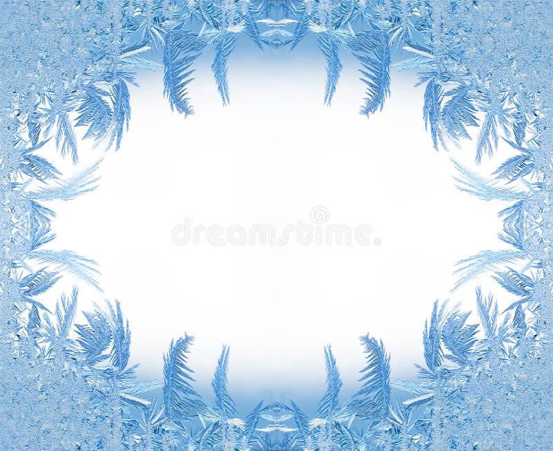 Het frame van het ijs vector illustratie