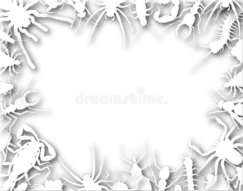 Het frame van het insect royalty-vrije illustratie
