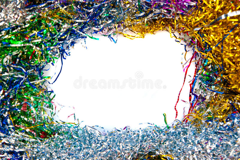 Het frame van het klatergoud stock foto's