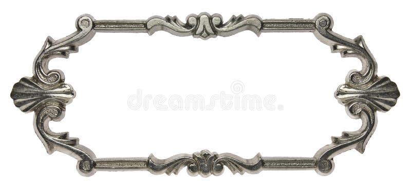 Het frame van het metaal stock foto's