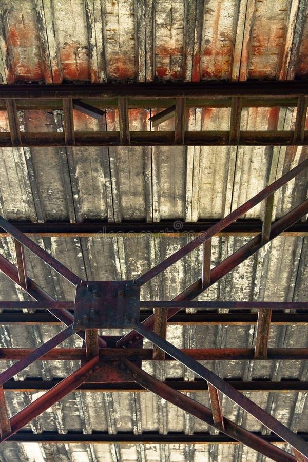 Het frame van het staal royalty-vrije stock fotografie