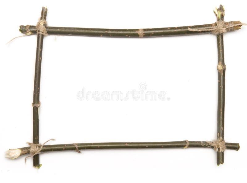 Het frame van het takje royalty-vrije stock fotografie