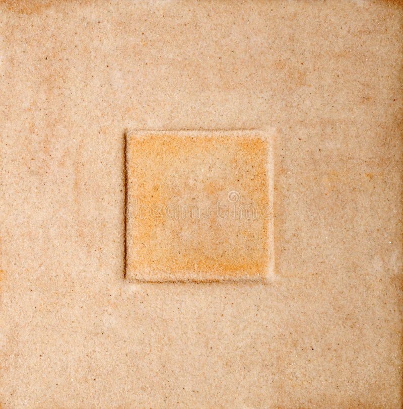 Het Frame van het zand stock foto