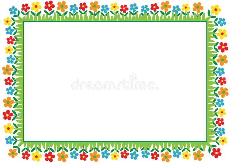 Het frame van jonge geitjes stock illustratie