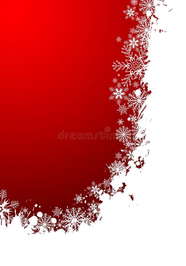 Het frame van Kerstmis royalty-vrije illustratie