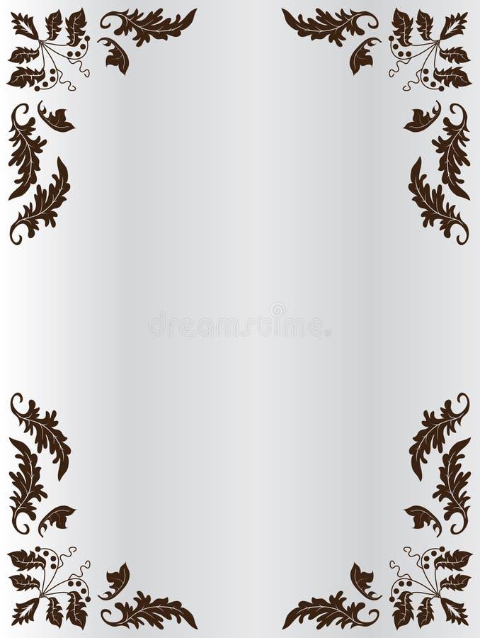 Het frame van ornament vector illustratie