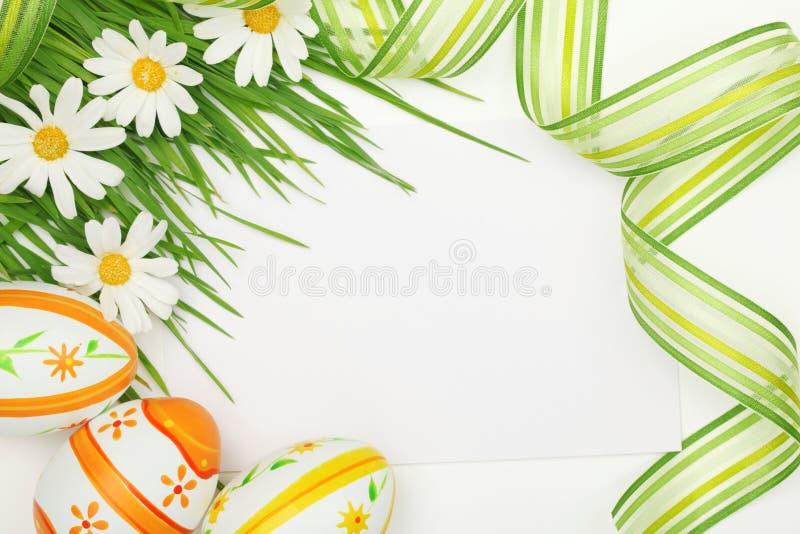Het frame van Pasen stock fotografie