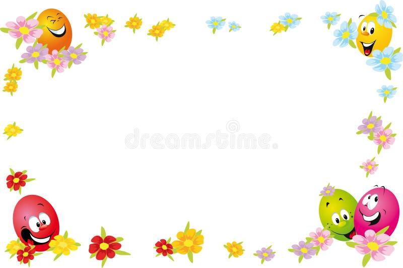 Het frame van Pasen royalty-vrije illustratie