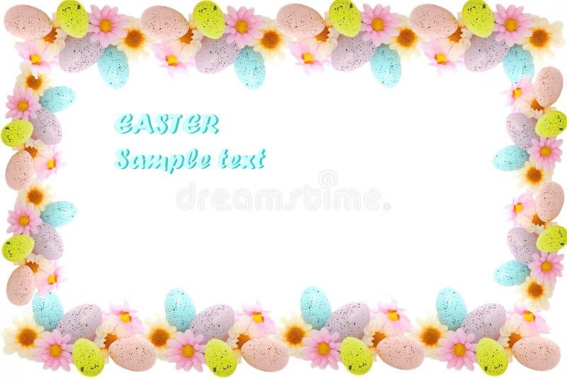Het frame van Pasen stock foto's
