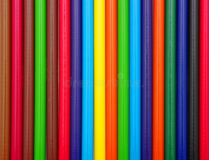 Het frame van potloden stock fotografie