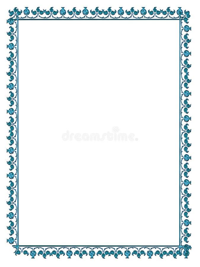 Het frame van Satined stock illustratie