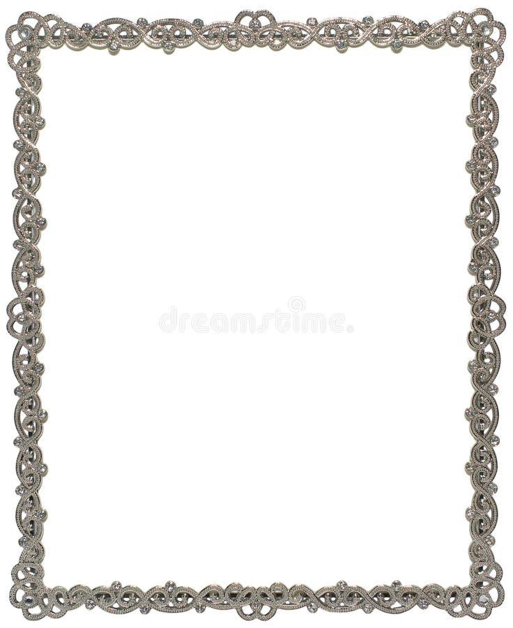 Het frame van Sparkly stock foto's