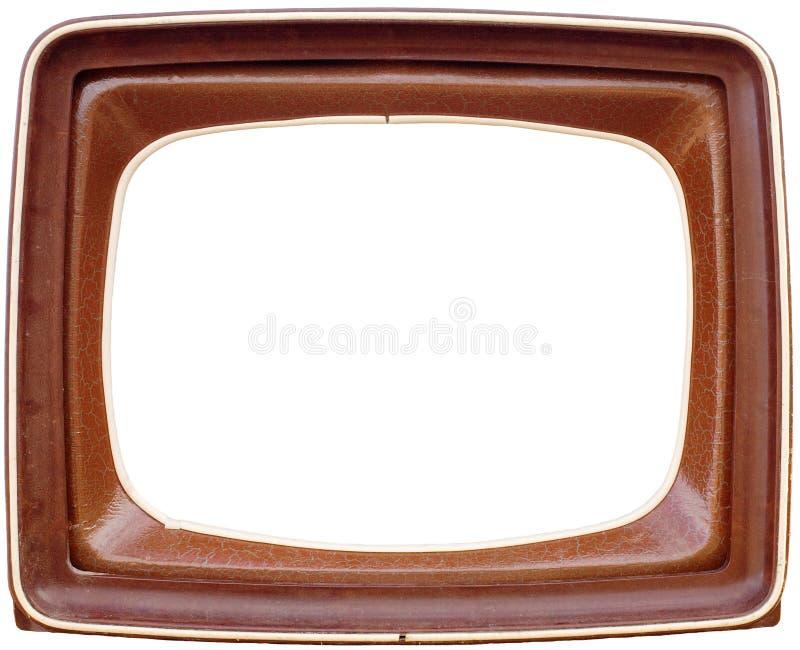 Het frame van TV royalty-vrije stock foto