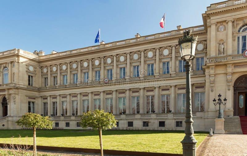 Het Franse Ministerie van Buitenlandse zaken, Parijs stock fotografie