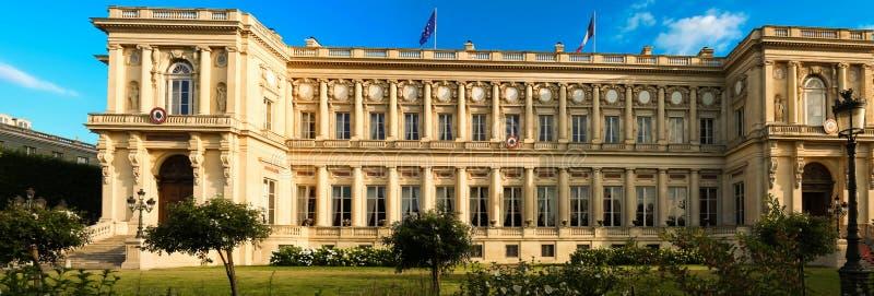 Het Franse Ministerie van Buitenlandse zaken, Parijs, Frankrijk royalty-vrije stock afbeelding